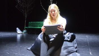 Nadia Elisa Thorsen Nordrum, som spiller Guri.