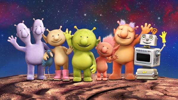 Britisk animasjonsserie. Verdensrommet er et morsomt sted å være med Romling. Bli med Romling og vennene hans i rommets siste utpost