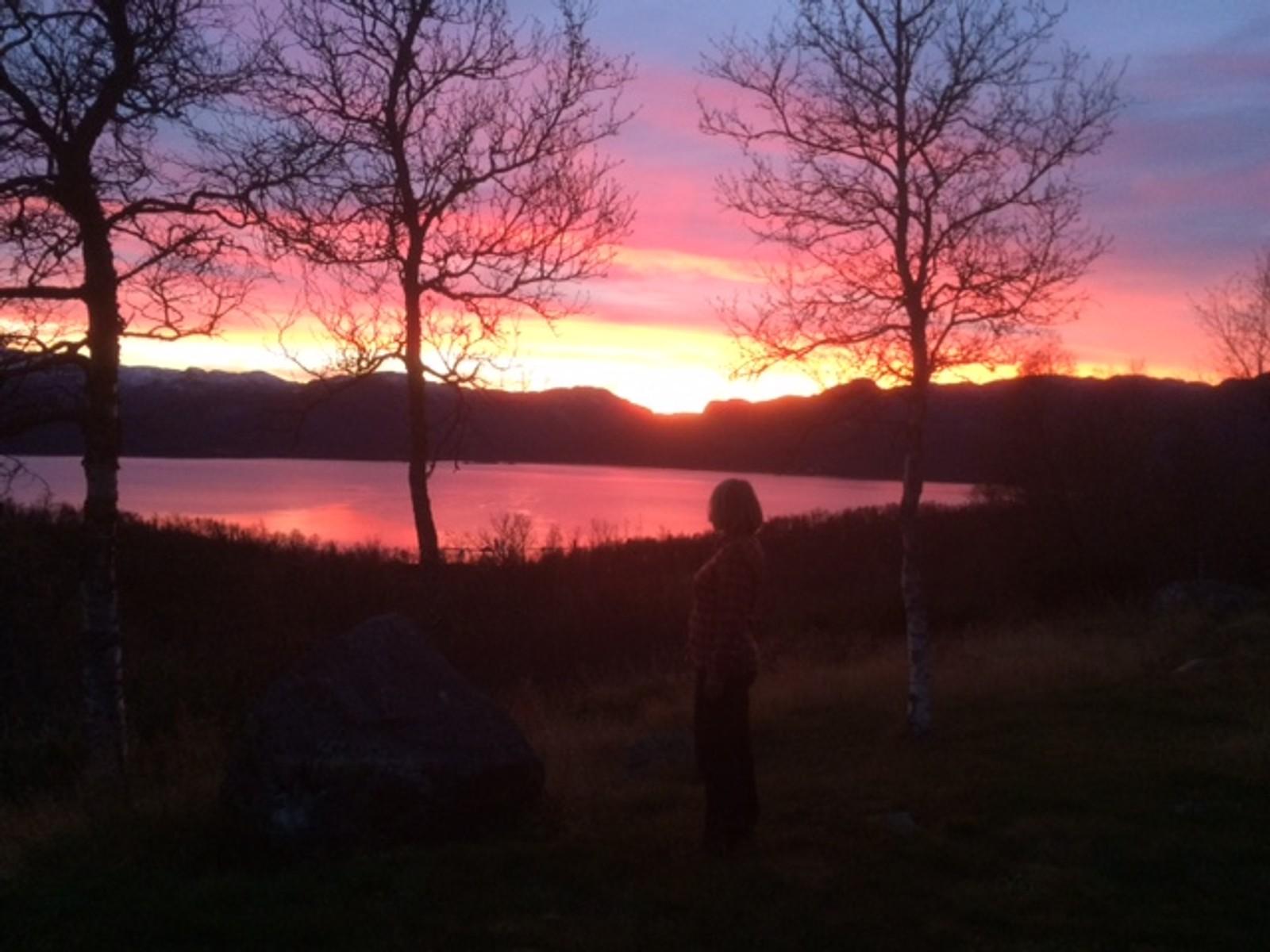 Solnedgang over Møsstrond 2