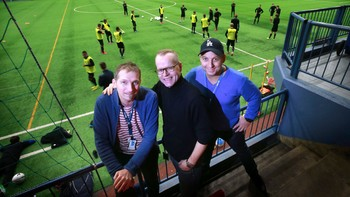 Freddy Toresen, Bjarne Brandal og Stian Høgland