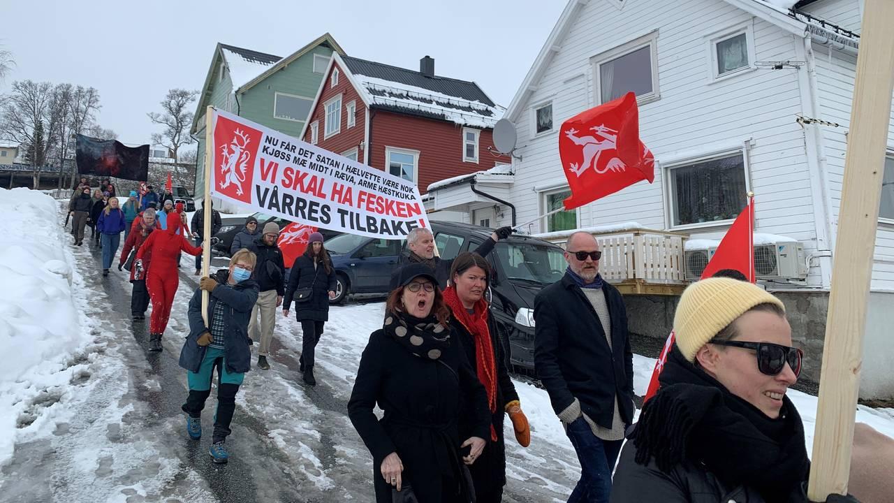 1. mai tog Tromsø