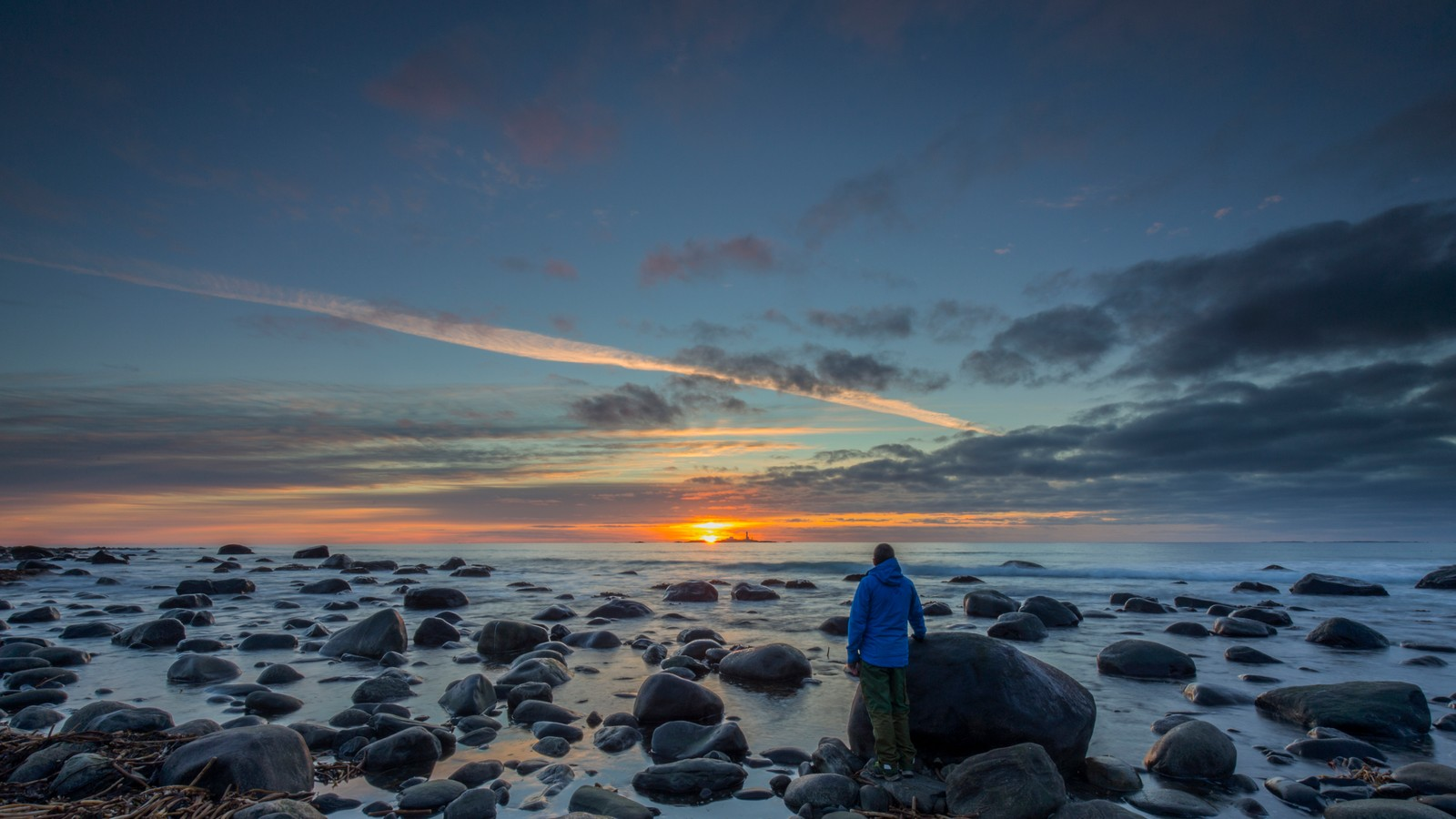 Solnedgang på Sele, Klepp.