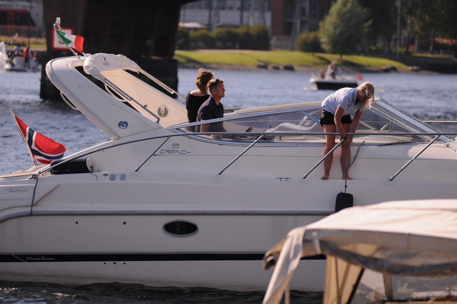 Stor båt og liten plass!
