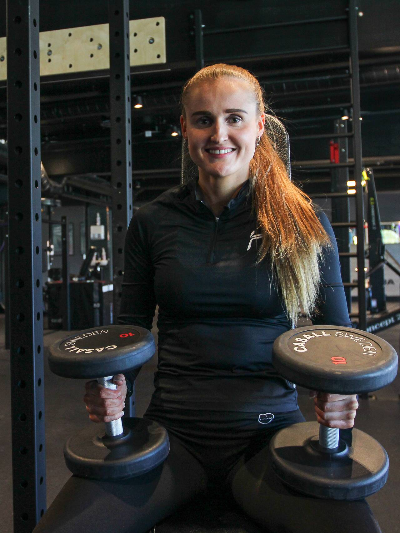PT Anine på treningssenter i Bodø.