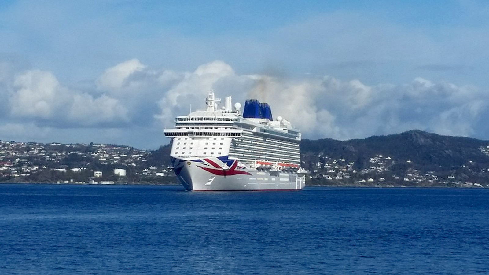 Britannia på Byfjorden