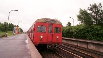 T-banen i Oslo.