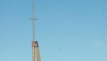 Kjerknestangen klokketårn i Inderøy