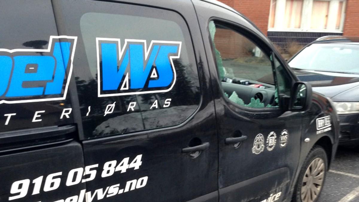 Håndverkere ekstra utsatt: – Innbrudd i arbeidsbiler er et