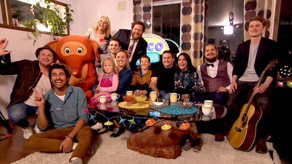 Tacofest med Newton-Stian og Fantorangen