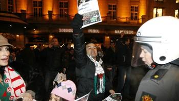 Reaksjoner mot Israel-demonstrasjon