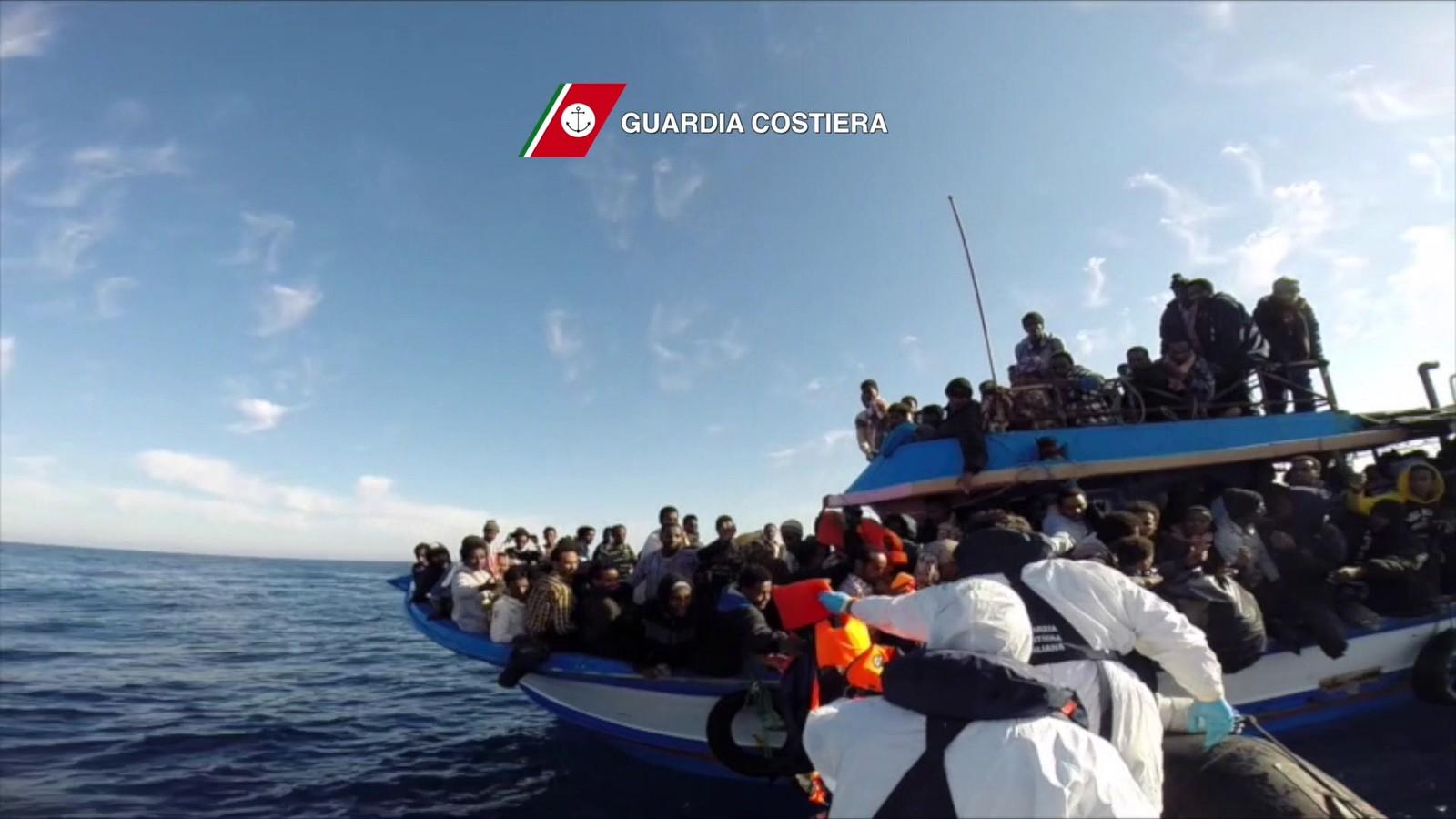 Bålflyktninger i Middelhavet