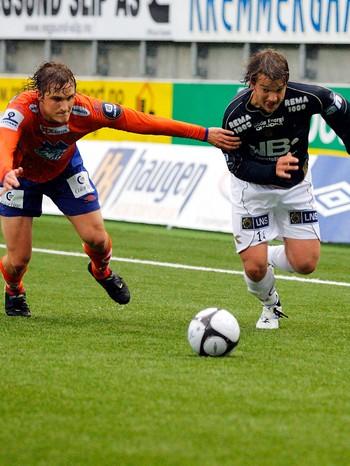 Trond Fredrik Ludvigsen (t.h.), Bodø Glimt.