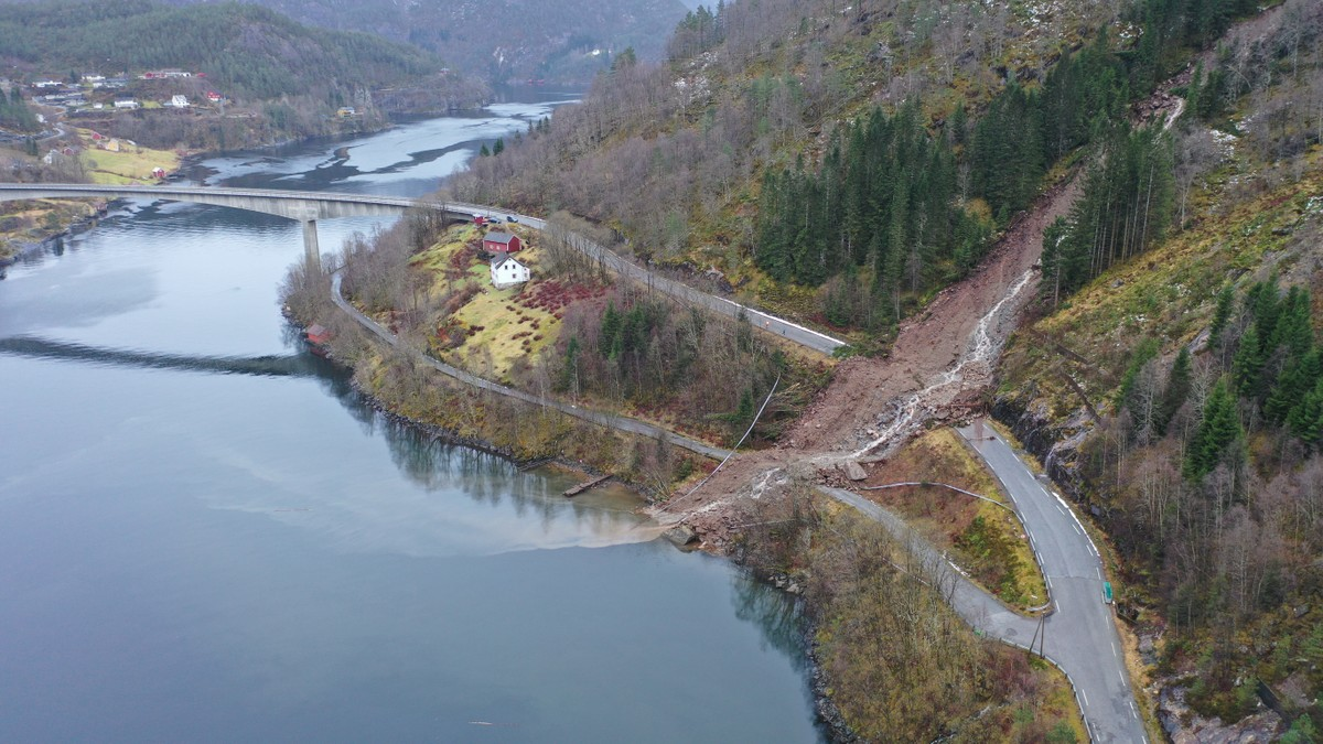 Ras på Osterøy