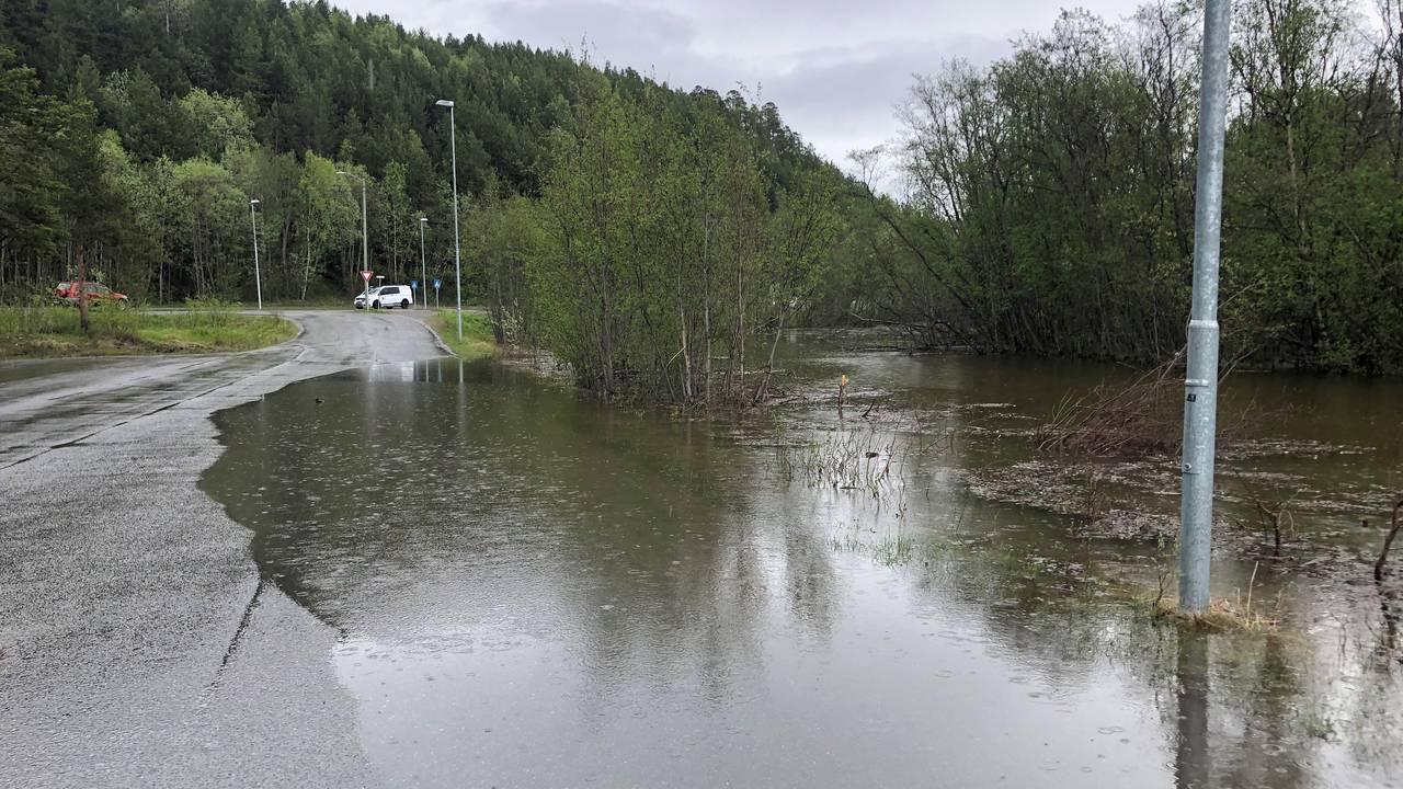 Alta kristne grunnskole stengt på grunn av flom