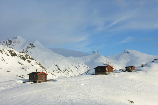 Vinter ved Snytindhytta - Foto: Trond Løkke