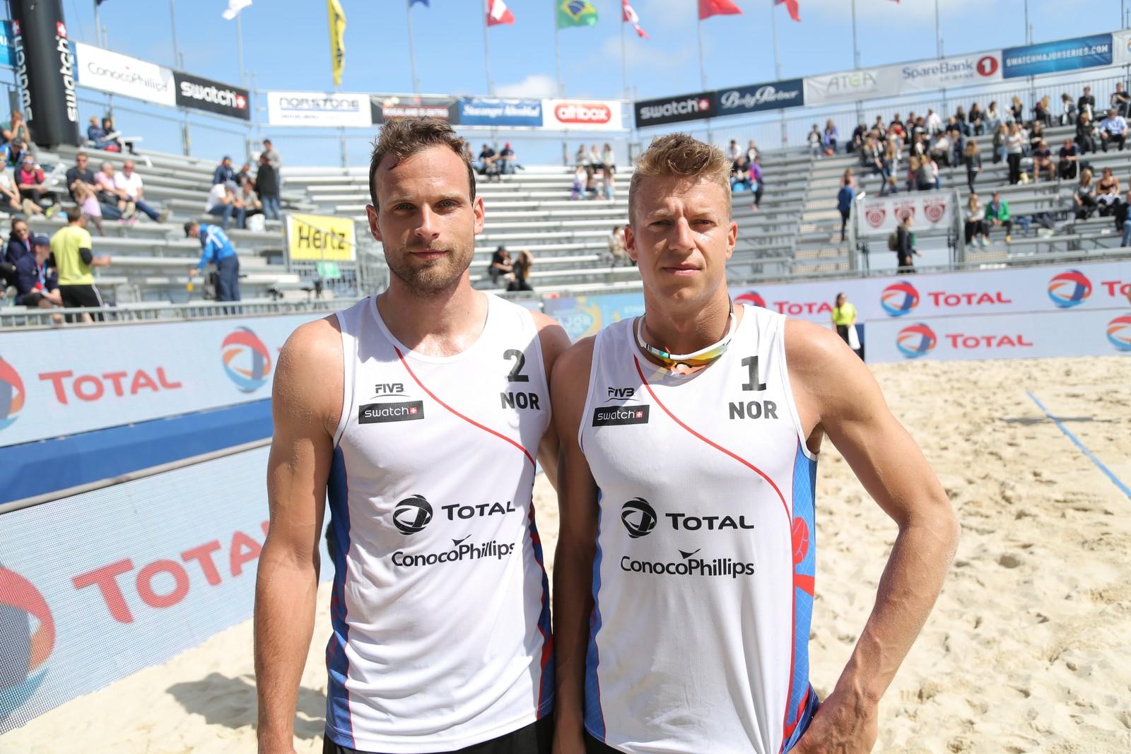 Øyvind Hordvik og Morten Kvamsdal under Stavanger Major.