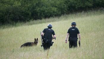 Jakter på drapsmann i Storbritannia