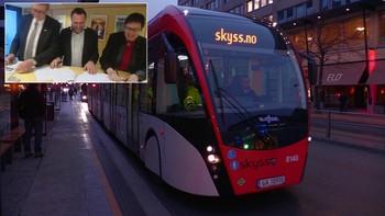 Trondheim har fått nær fire milliarder kroner til mer satsing på miljøet. Pengene de nå får fra staten, skal blant annet gå til å styrke kollektivtrafikken med nye superbusser.