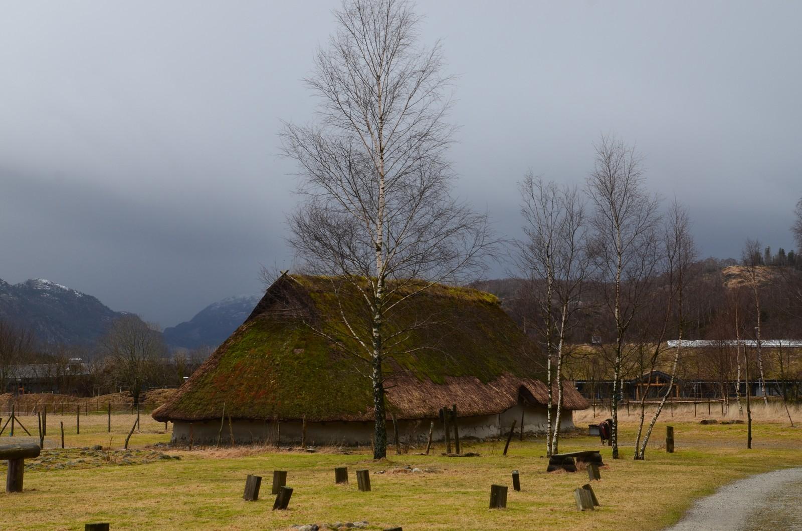 Fortidslandsbyen Landa i Forsand.