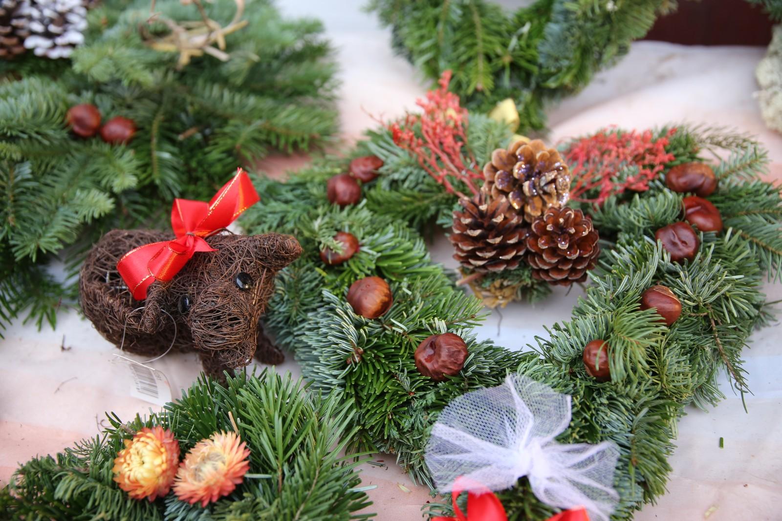Julemarked i Molovegen.