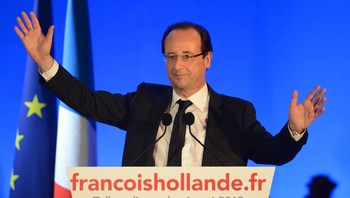 Hollande holder seierstale