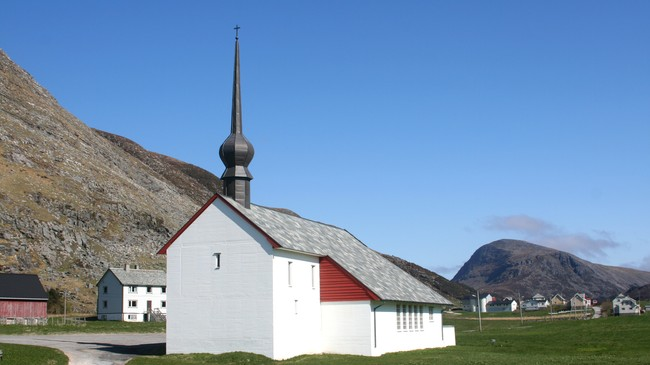 Ervik kapell. Foto: Ottar Starheim, NRK.