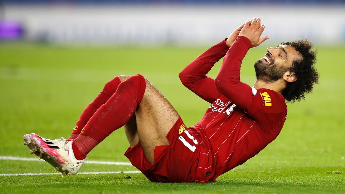 Salah-dobbel  for  Liverpool