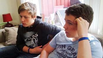 Stian Johansen og Tobias Tokle Sørstad