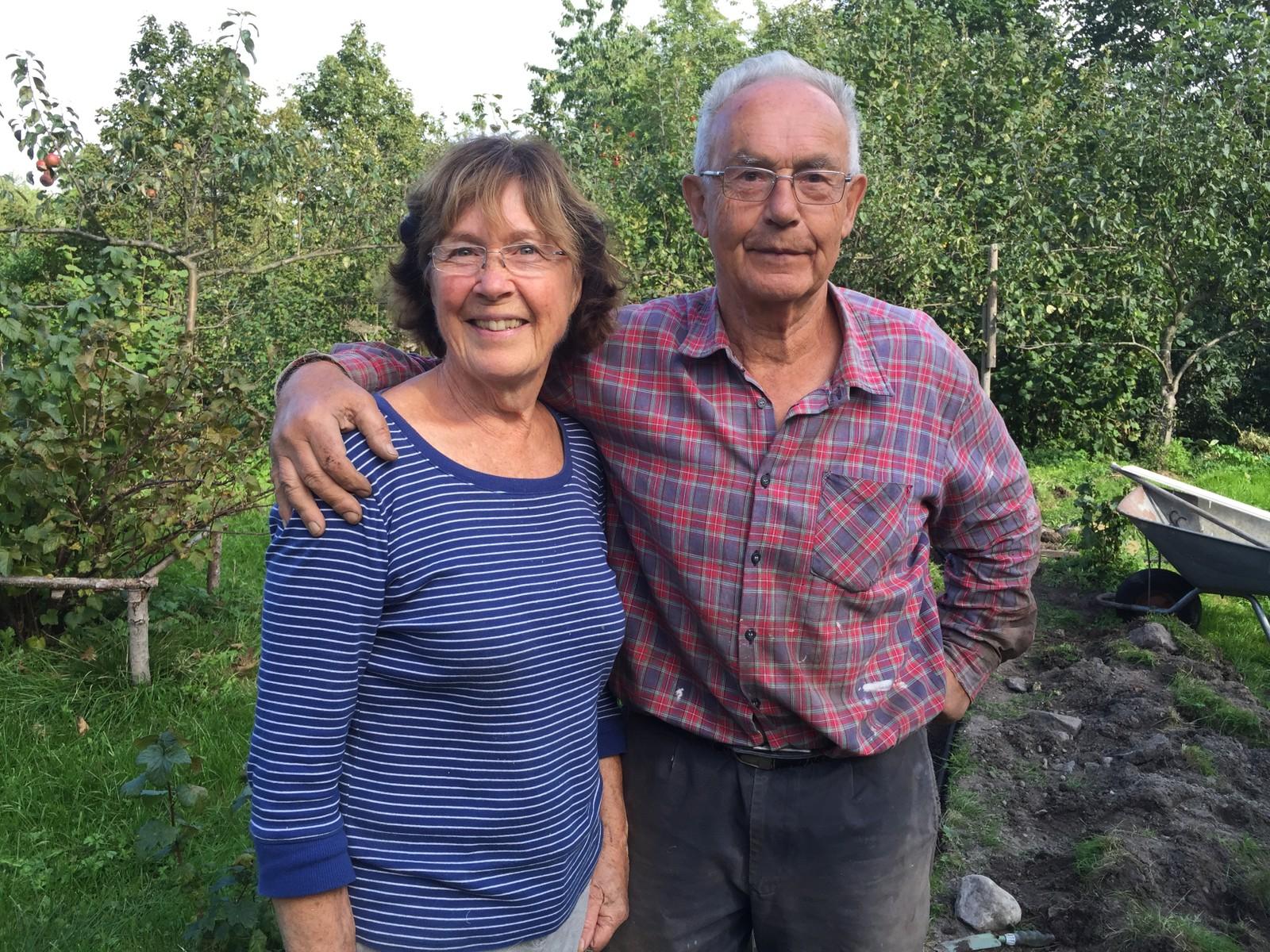 Elsa og Jens Morten Dannevig. Hagens eiere