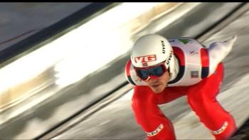 Stjernen er den beste norske etter 1. omgang med 215,5 meter.