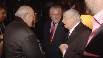 Mikhail Gorbatsjov, Jurij Ljubimov og Steinfeld