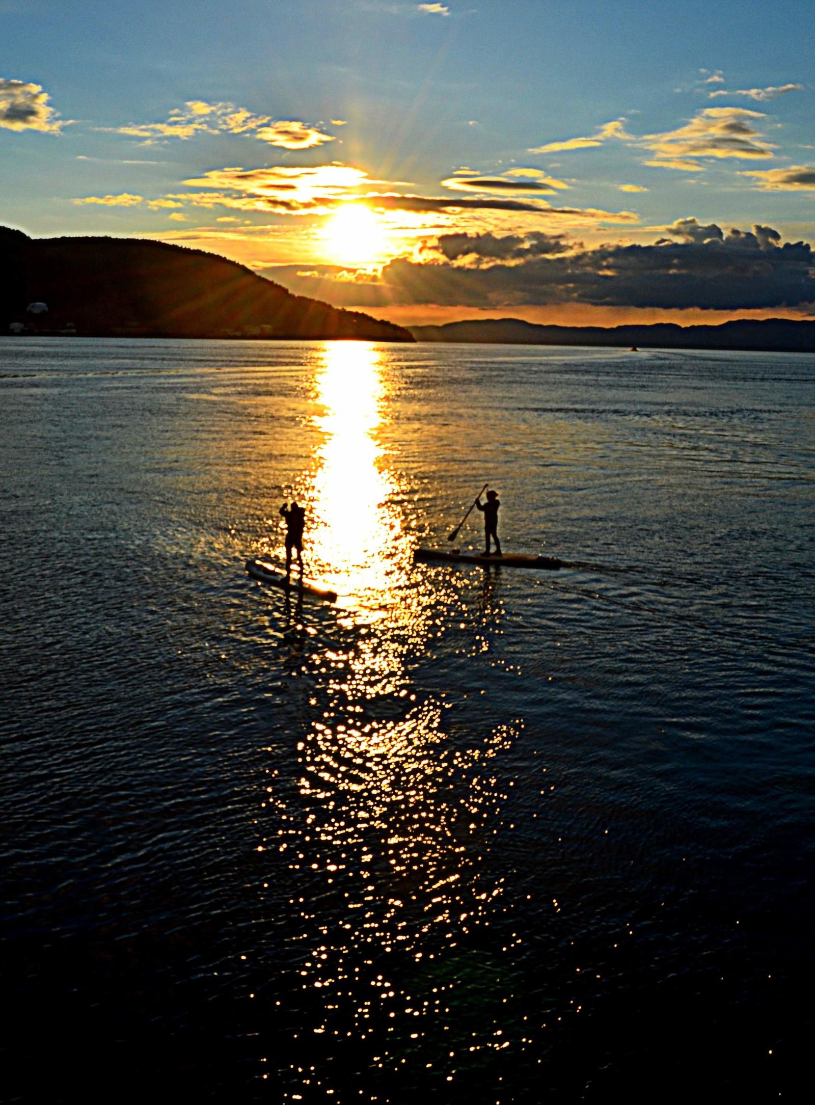 På Trondheimsfjorden
