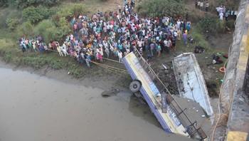 India bussulykke Gujarta