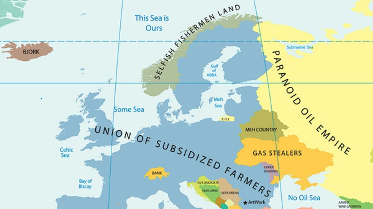 kart over hav i europa Her bor de egoistiske fiskerne – NRK Nordland – Lokale nyheter, TV  kart over hav i europa