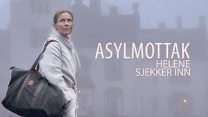 Helene sjekker inn: Asylmottak