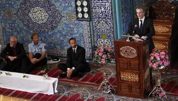 Utenriksminister Jonas Gahr Støre og kronprins Haakon