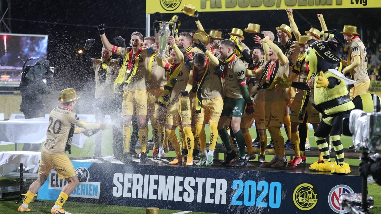 Bodø/Glimt er seriemester 2020.