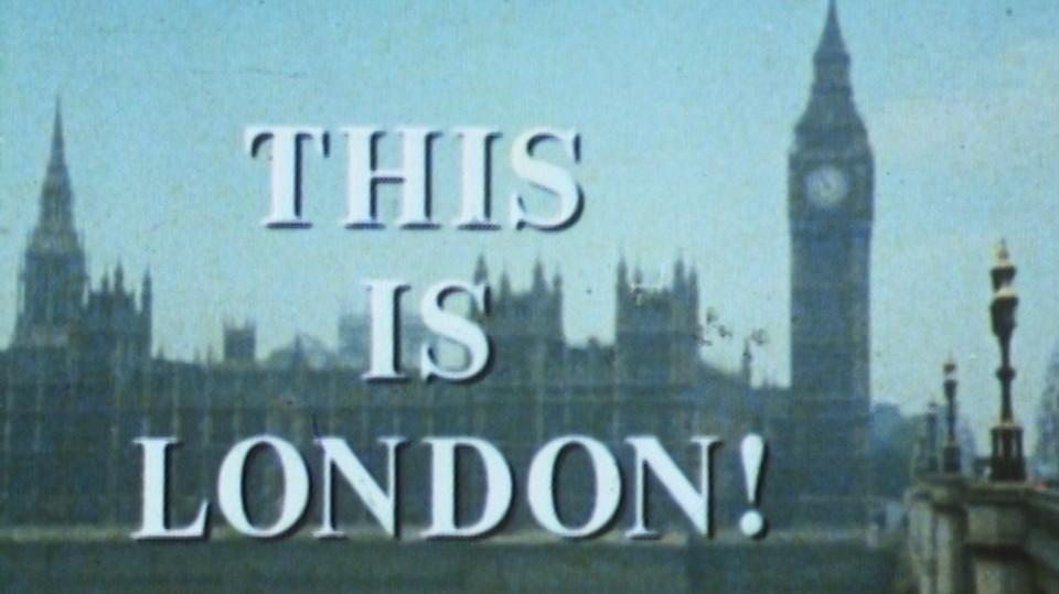 Dette er London!