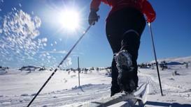 DRØMMEFORHOLD: Østlendingene får en kjempestart på ferien, dersom langtidsvarselet holder stikk. Her fra Blefjell på grensen mellom Buskerud og Telemark.