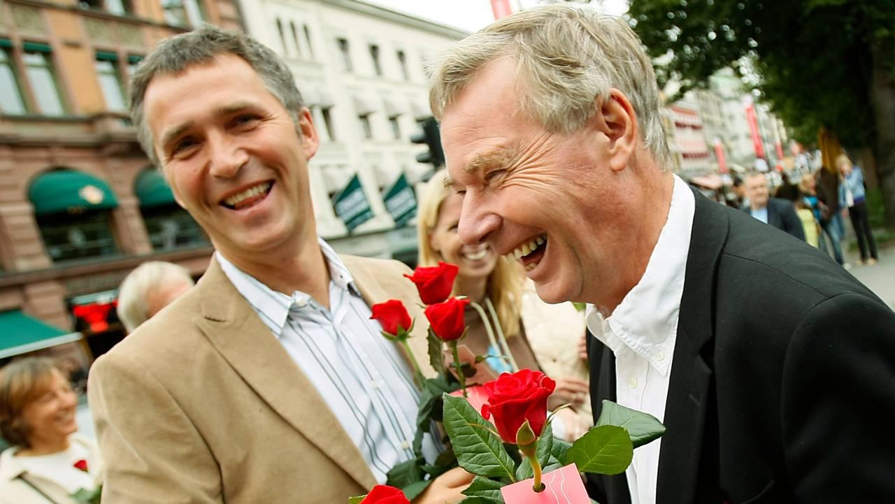 Jens Stoltenberg og Rune Gerhardsen