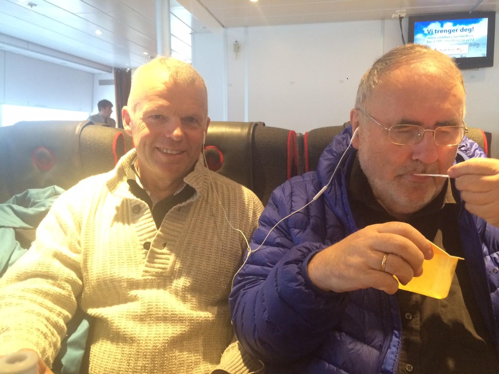 Sveinung og Lars Egil