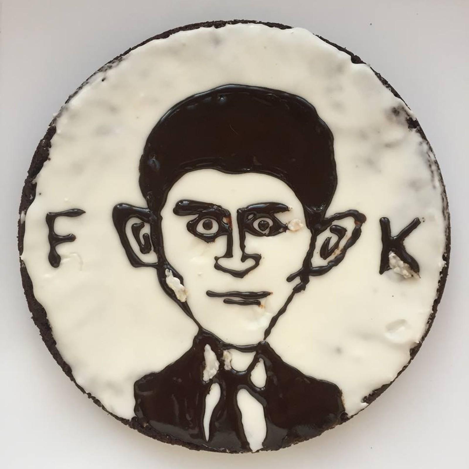 Franz Kaka som Franz Kafka.