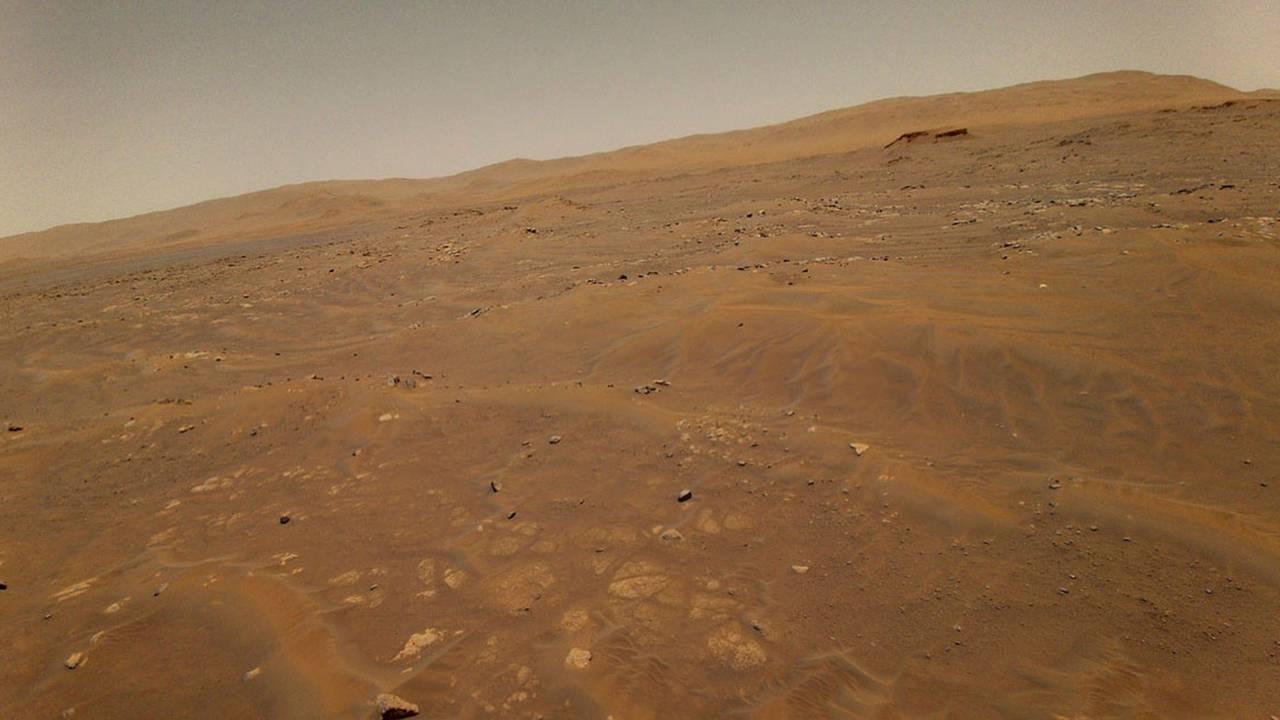 Mars sett fra 10 meters høyde