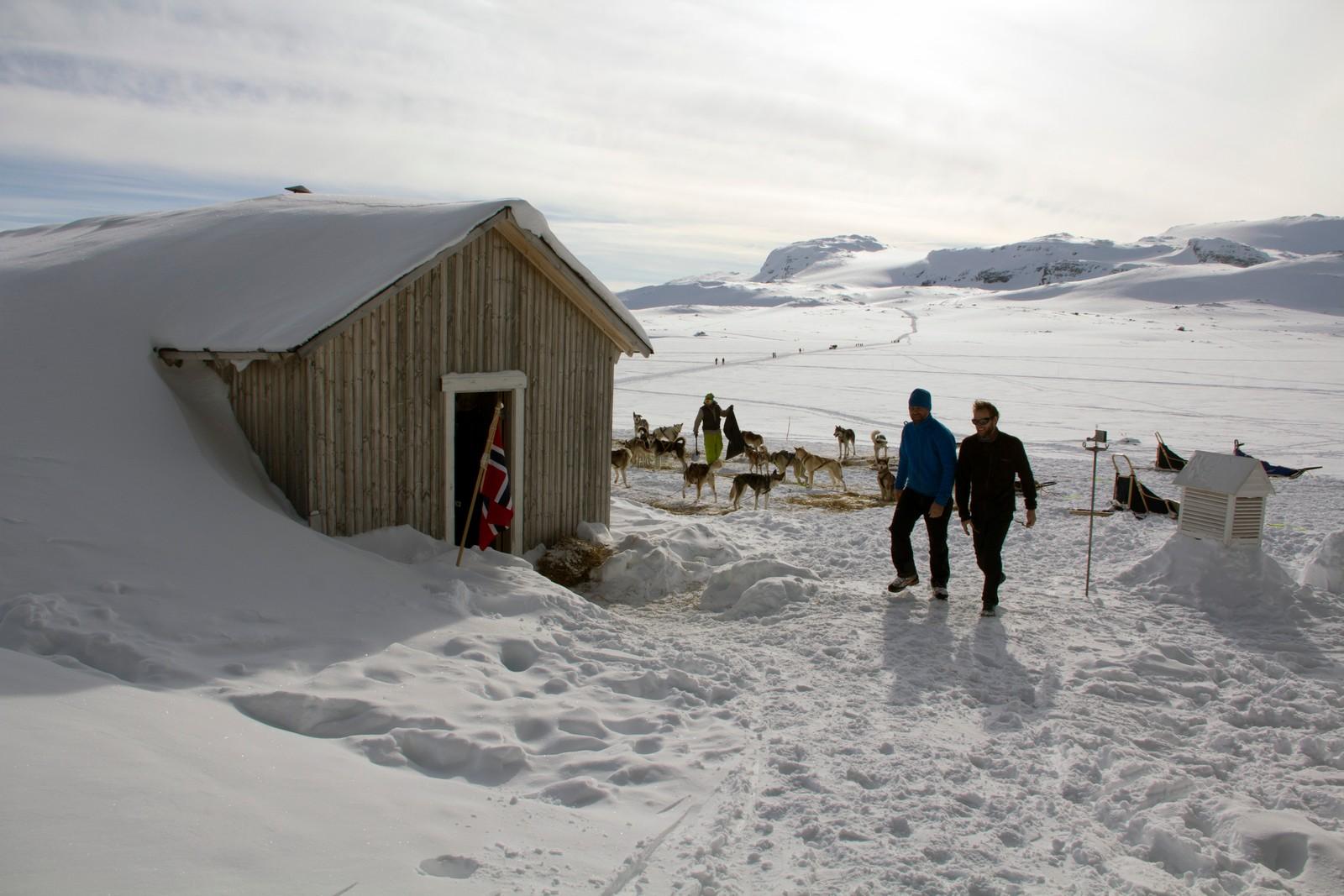 Gründerne Harald Kippenes og Anders Bache har rekonstruert Roald Amundsens overvintringshytte Framheim. Originalen stod i Hvalbukta i Antarktis, den nye står nedenfor perrongen på Finse stasjon.