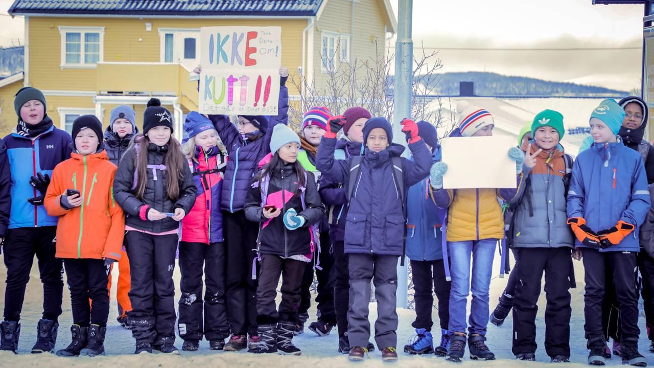 Skoledemonstrasjon i tromsø
