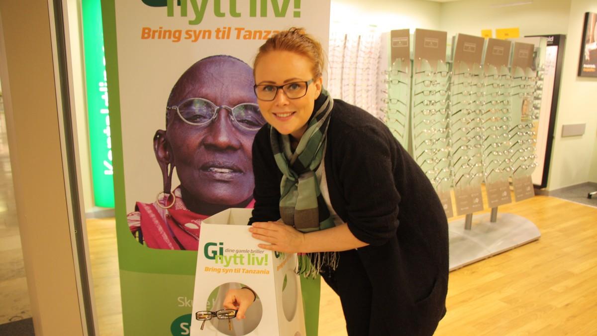 1daee465cbb0 Gir liv til brukte briller – NRK Telemark – Lokale nyheter