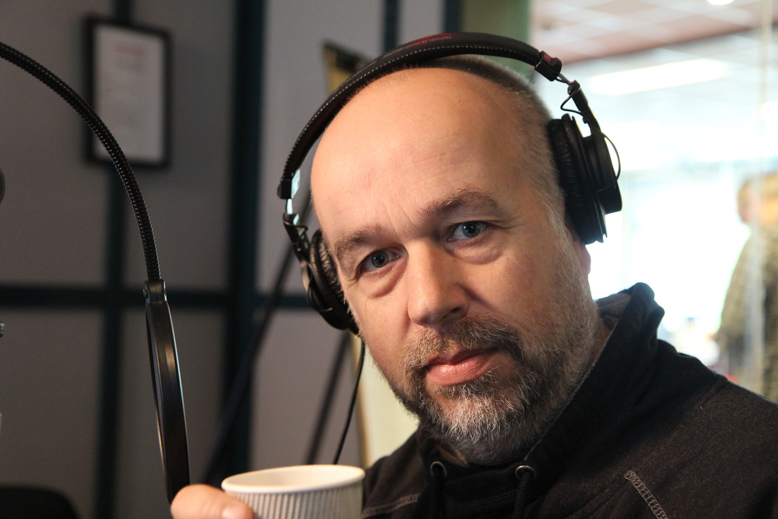 Bjørn Sæbø, redaktør i Rogalands Avis.