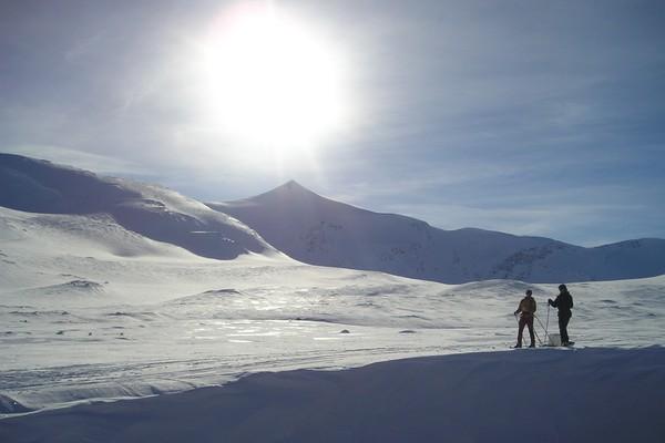 Vintertur i Tafjordfjella - Foto: Ålesund-Sunnmøre Turistforening