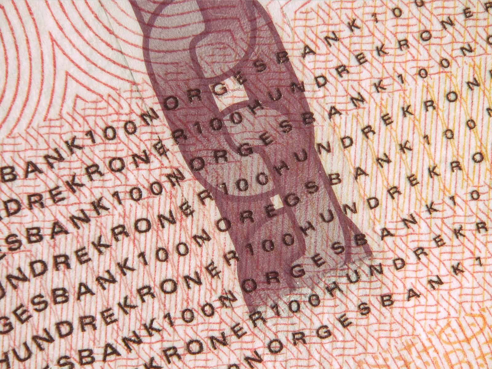 Den nye 100-kroneseddelen skal tas i bruk fra 30. mai 2017.