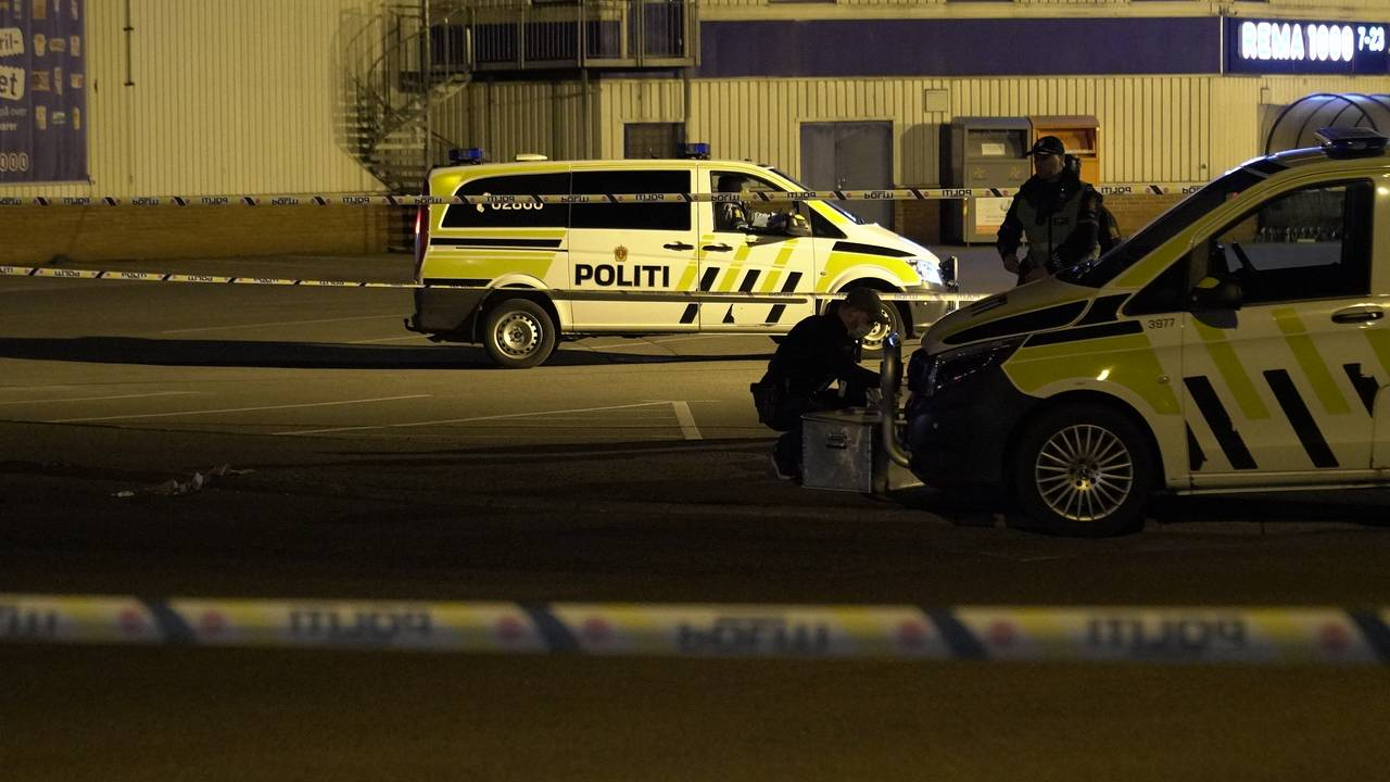 Politi i Tønsberg - mann skutt